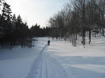 Ski de fond à Saint-Philippe-de-Néri